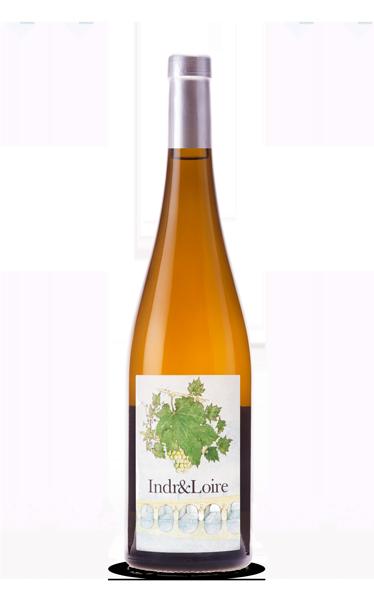 Indr&Loire vin blanc AOC Touraine Azay-le-Rideau